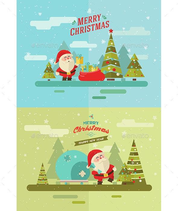 Santa's journey - Christmas Seasons/Holidays