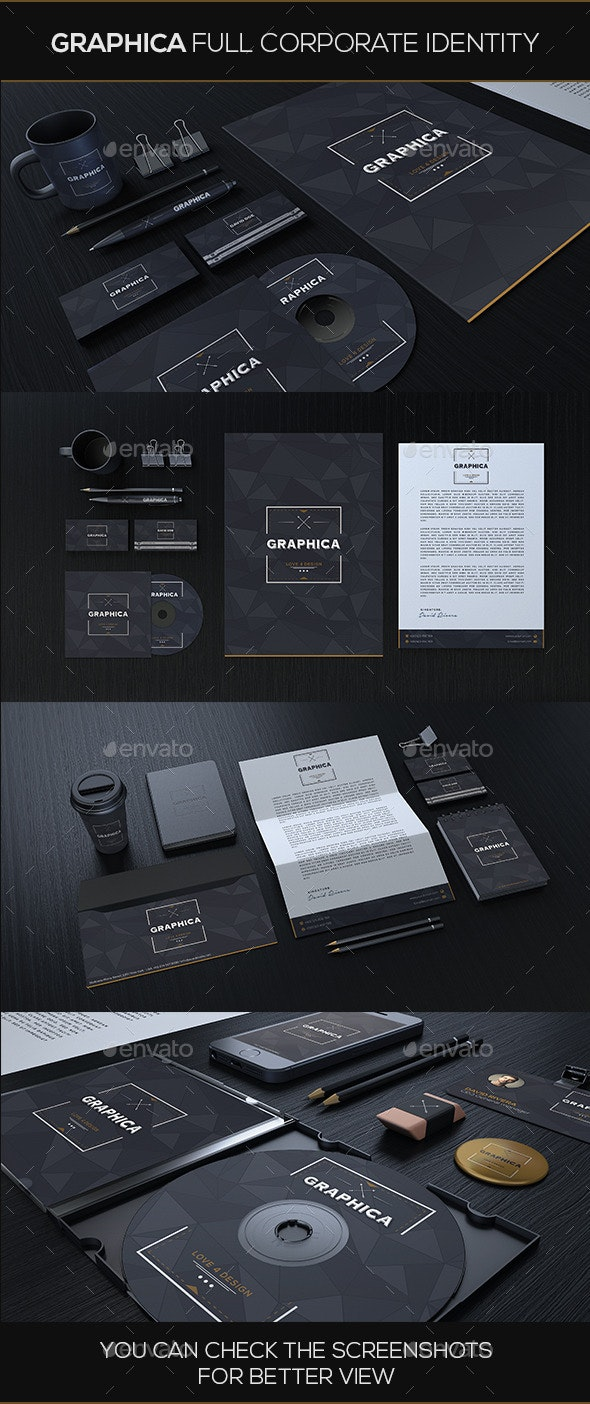 Graphica Corporate Identity - Stationery Print Templates