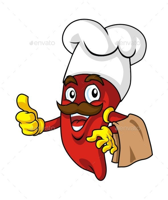 The Chilli Man - People Characters