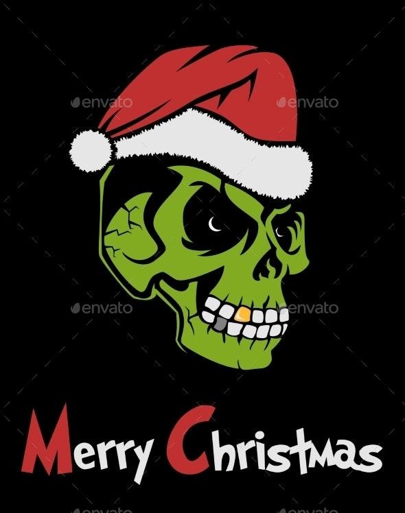 Zombie Santa Claus - Christmas Seasons/Holidays
