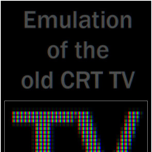 Old TV Emulation Action