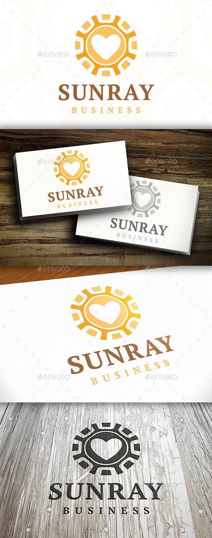 Sun Love Logo - Symbols Logo Templates