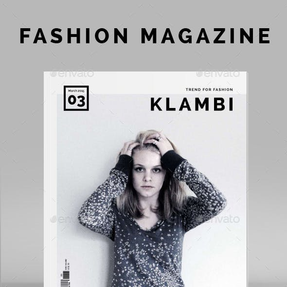 Fashion Magazine Klambi