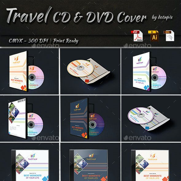 Travel CD & DVD Cover
