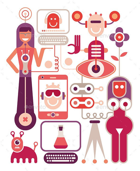 Human Resource Management - People Characters