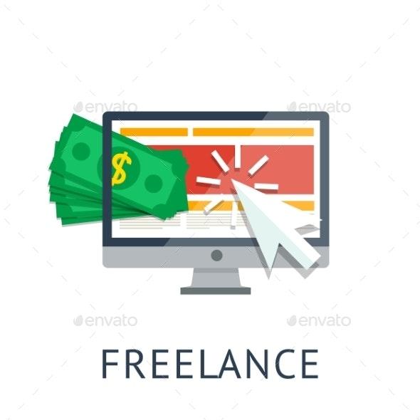 Freelance Icon - Web Technology