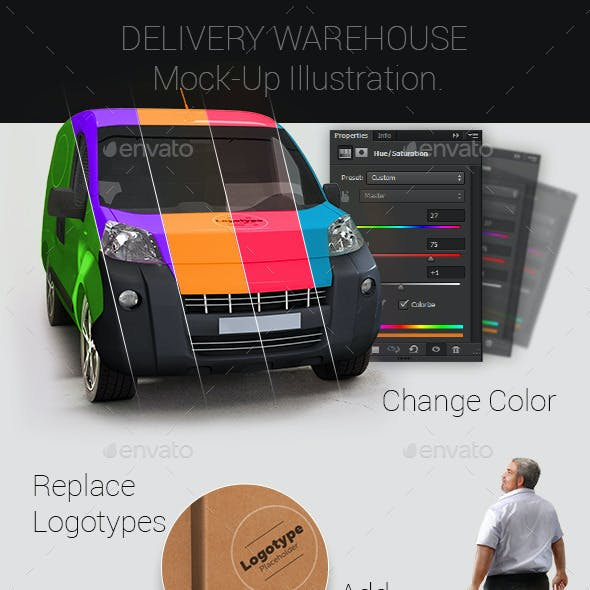 Delivery Warehouse Mock-Up
