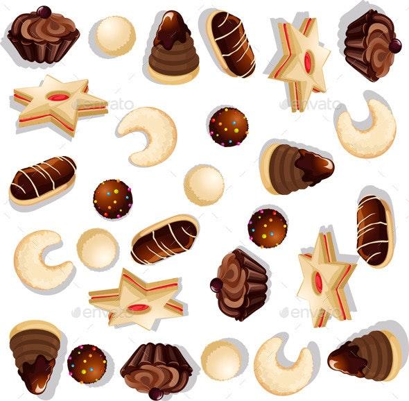 Christmas Cookie Pattern  - Christmas Seasons/Holidays