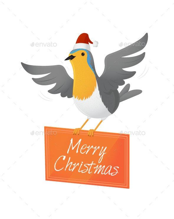 Christmas Robin - Christmas Seasons/Holidays