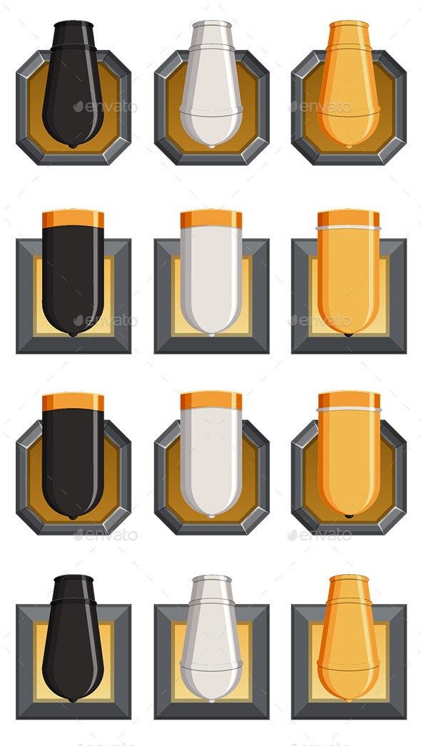 Canon Defense - Miscellaneous Game Assets