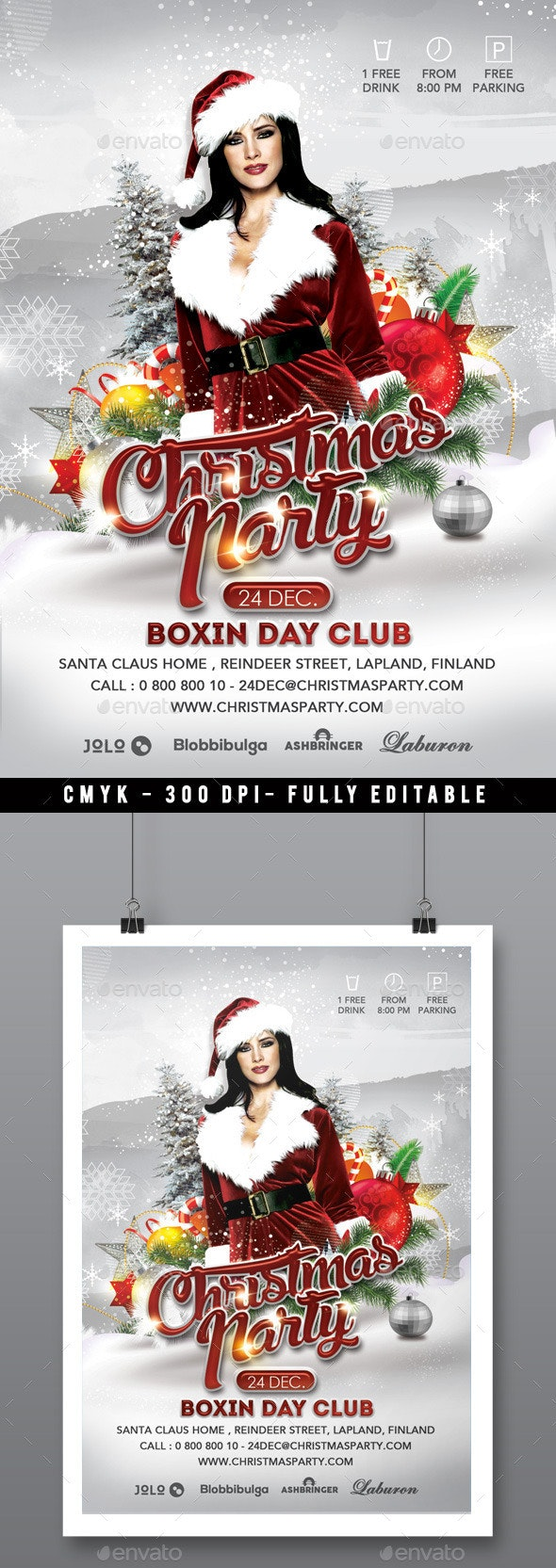 Sexy White Christmas Party In Club - Clubs & Parties Events