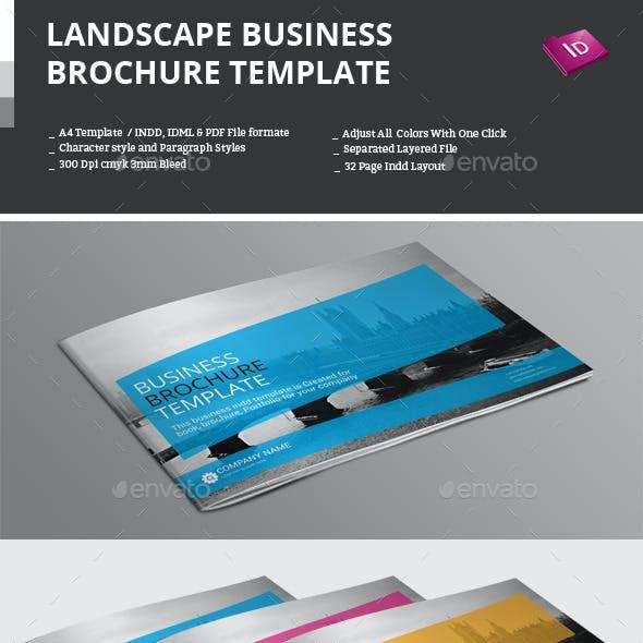 Landscape Business Brochure Template