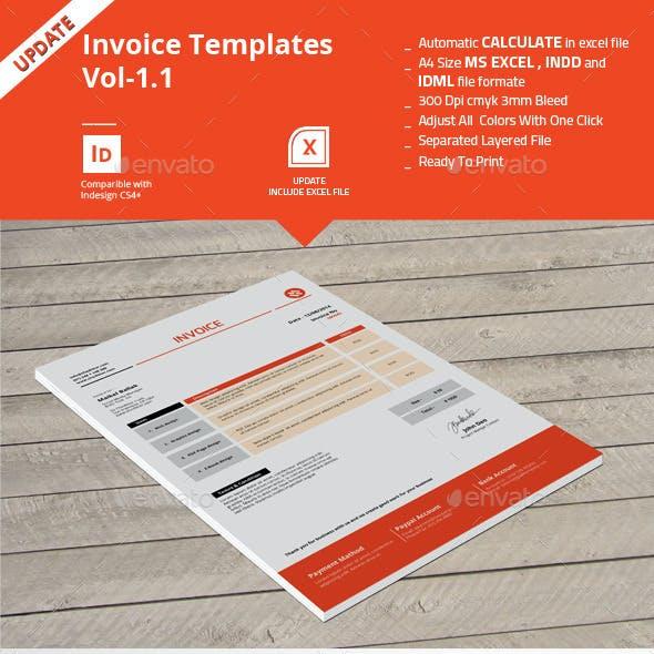Invoice Templates Vol-1.1