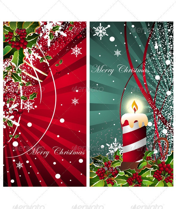 Abstract Christmas Cards - Christmas Seasons/Holidays