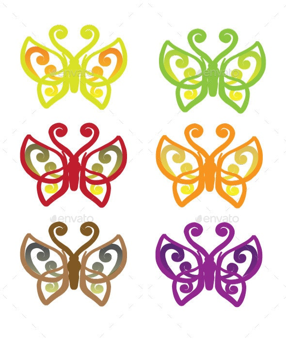 Butterfly Vector - Animals Characters