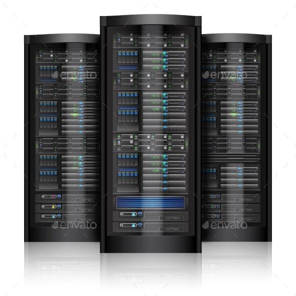 Network Servers - Technology Conceptual