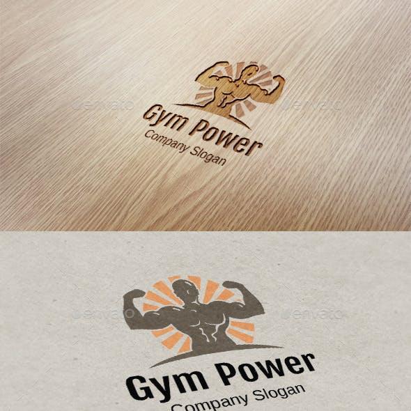 Gym Power Logo