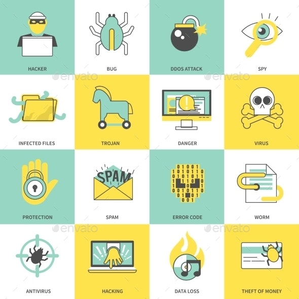 Hacker Icons - Computers Technology