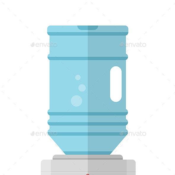 Flat Water Cooler