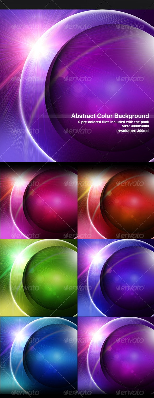 Abstract Colorful Background - Abstract Backgrounds