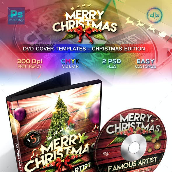 Christmas DVD Cover Templates