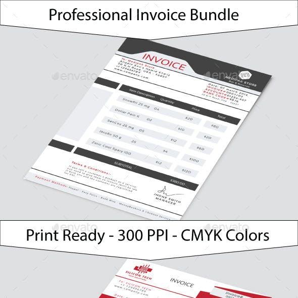 Multi Business Invoice Bundle
