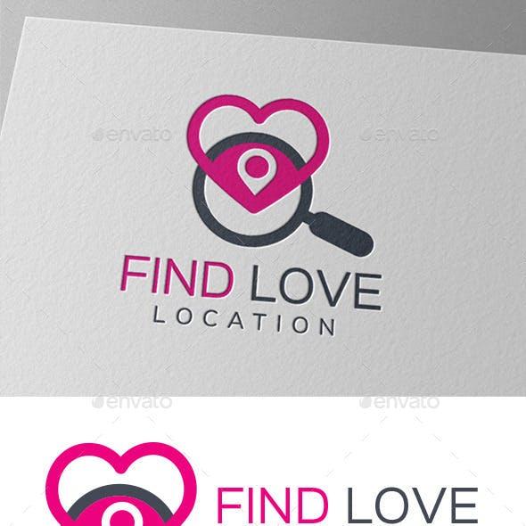 Find Love Location Logo