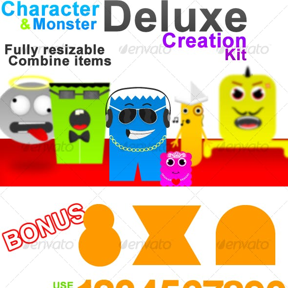 Character and Monster Deluxe Creation Kit