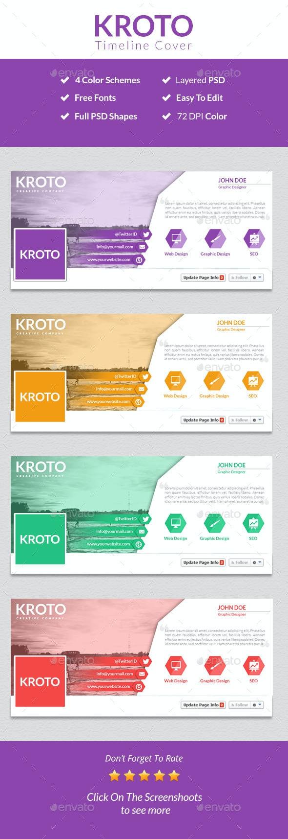 Kroto Facebook Timeline Cover - Facebook Timeline Covers Social Media