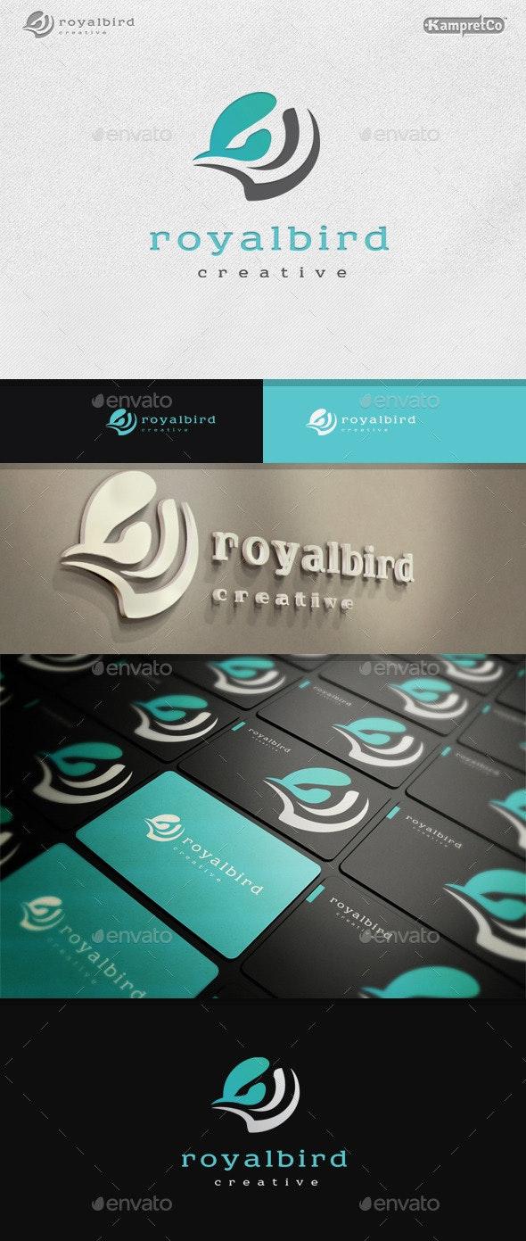 Royal Bird Logo - Vector Abstract