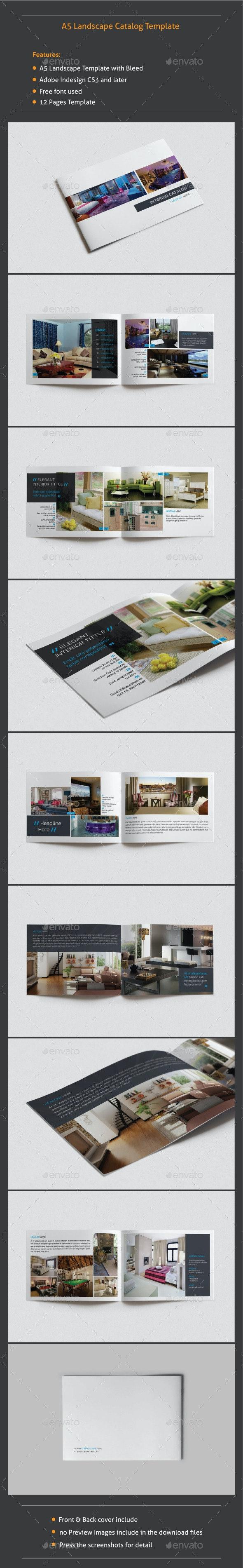 A5 Landscape Catalog - Catalogs Brochures