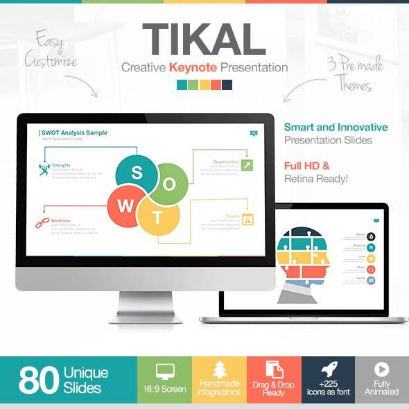 Tikal Keynote Presentation Template