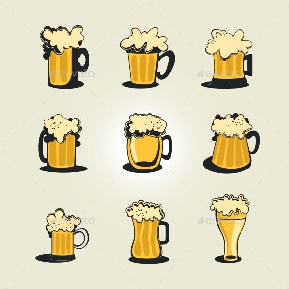 Beer Collection - Food Objects