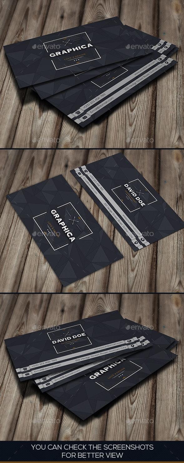Grey Creative Business Card - Creative Business Cards