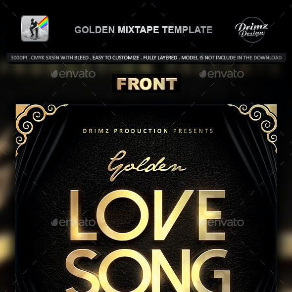 Golden Mixtape Template