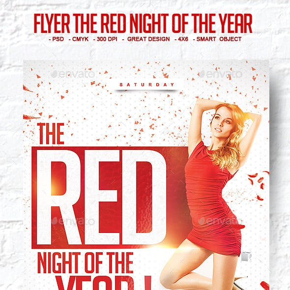 Flyer The Red Night of The Year