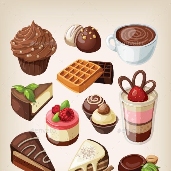 Set of Chocolates