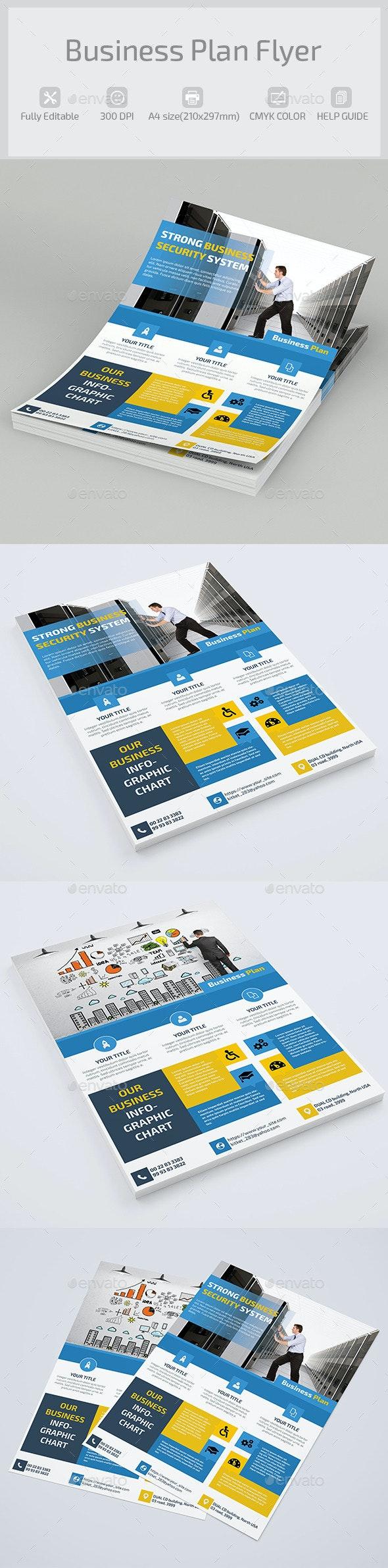 Business Plan Flyer - Corporate Flyers