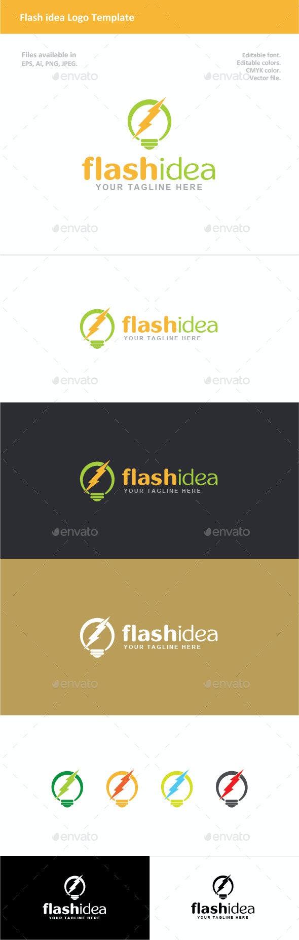 Flash Idea Logo