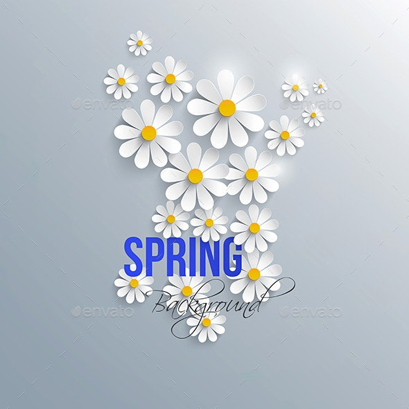 Abstract Spring Background - Patterns Decorative