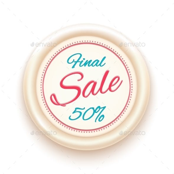 Final Sale Badge