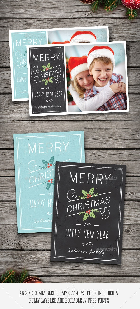 Christmas Photo Cards - Holiday Greeting Cards