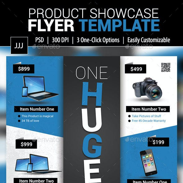 Product Showcase Flyer 12