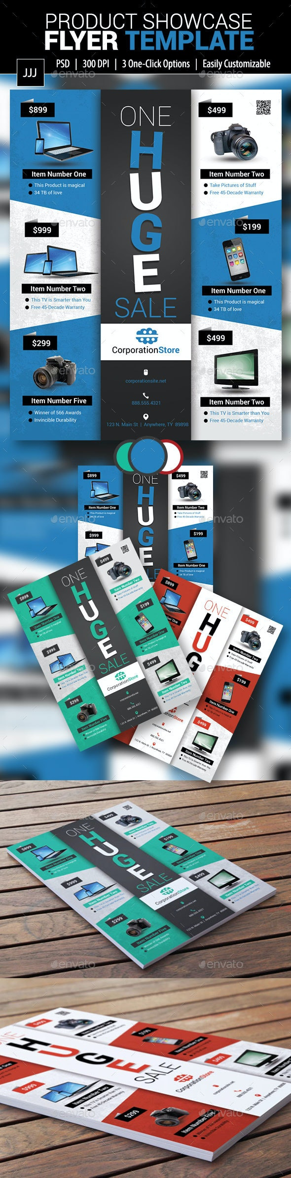 Product Showcase Flyer 12 - Commerce Flyers