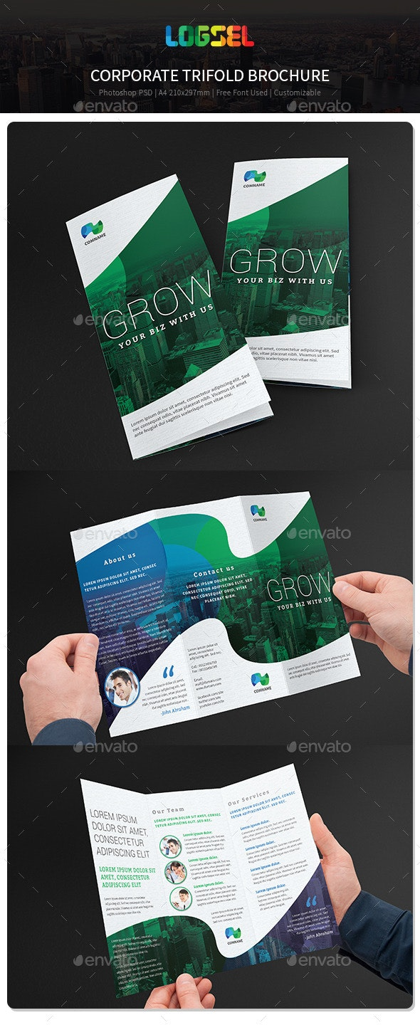Corporate Trifold Brochure V33 - Corporate Brochures