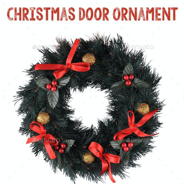 Christmas Door Ornament