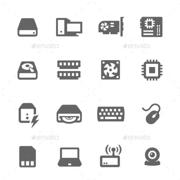 Hardware Icons