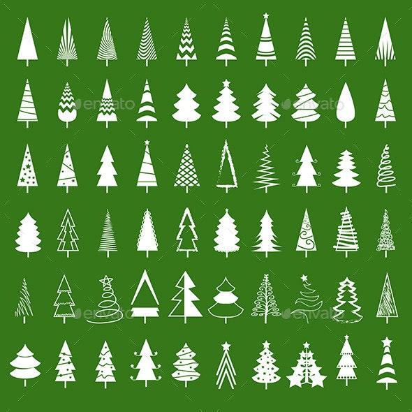 Christmas Tree Set - Christmas Seasons/Holidays