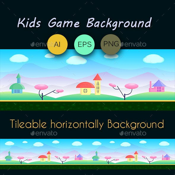 Kids Games Background