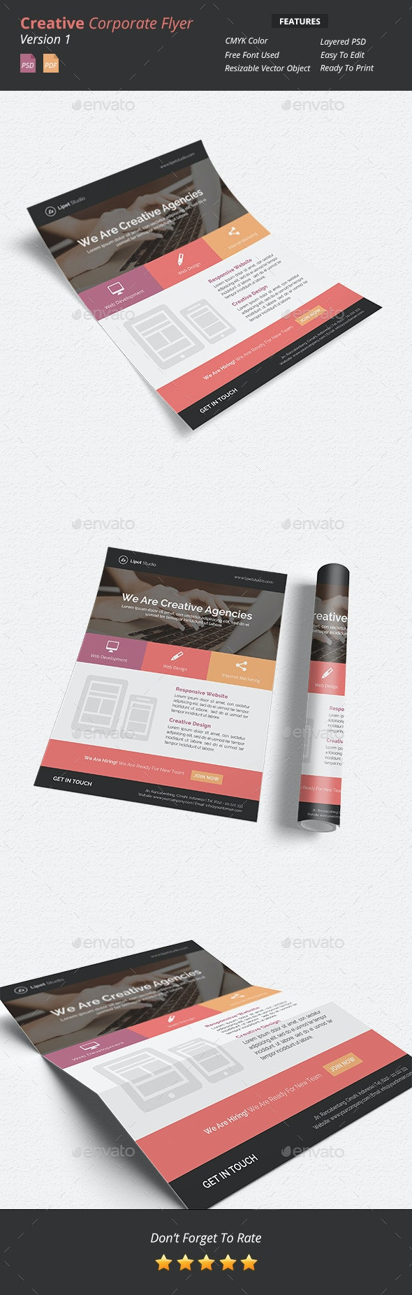 Creative Corporate Flyer v1 - Corporate Flyers